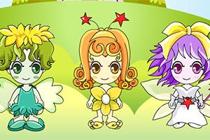 Three Fairy Dressup