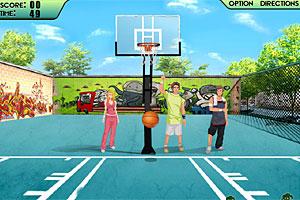 Urban Basketball Challenge game