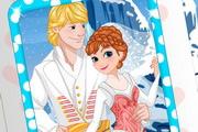 Wedding,Princess, Anna , Invitation