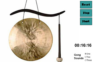 Zen Medidation Clock